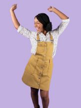 1 PINAFORE SEWING WORKSHOP BOBBI PINAFORE OR SKIRT  (SIZES 6-24) SATURDAY 21ST NOV 2020